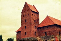 The castle of Trakai