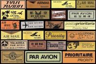 Priority airmail